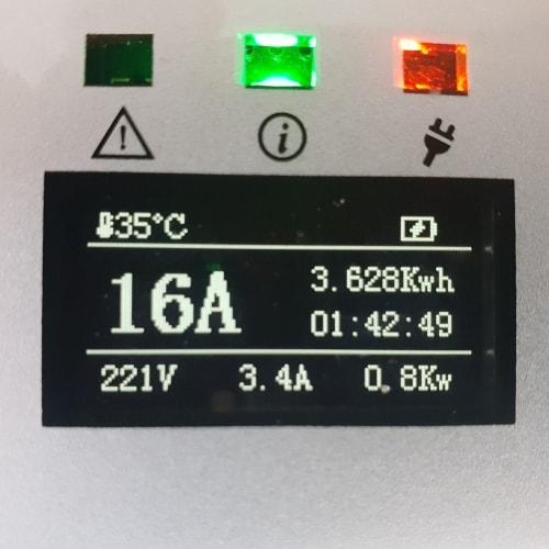 3-EV EVSE Type2 (max. 16A) Mobiele lader
